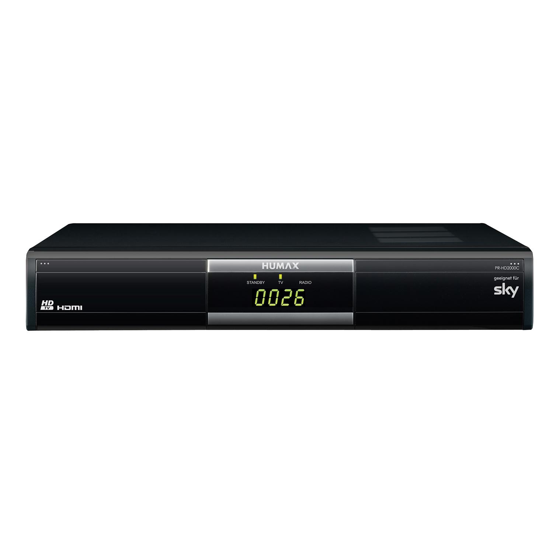 siwacom eshop humax pr hd2000c hdtv kabel receiver dvb c sky online kaufen. Black Bedroom Furniture Sets. Home Design Ideas