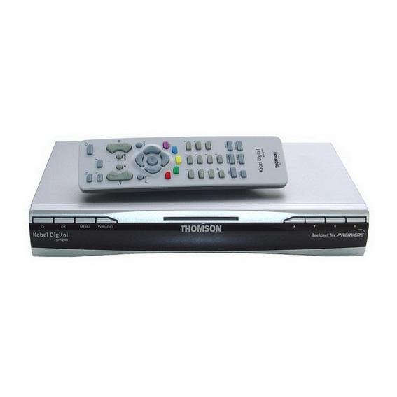 siwacom eshop thomson dci 1500g digital kabel receiver dvb c sky online kaufen. Black Bedroom Furniture Sets. Home Design Ideas